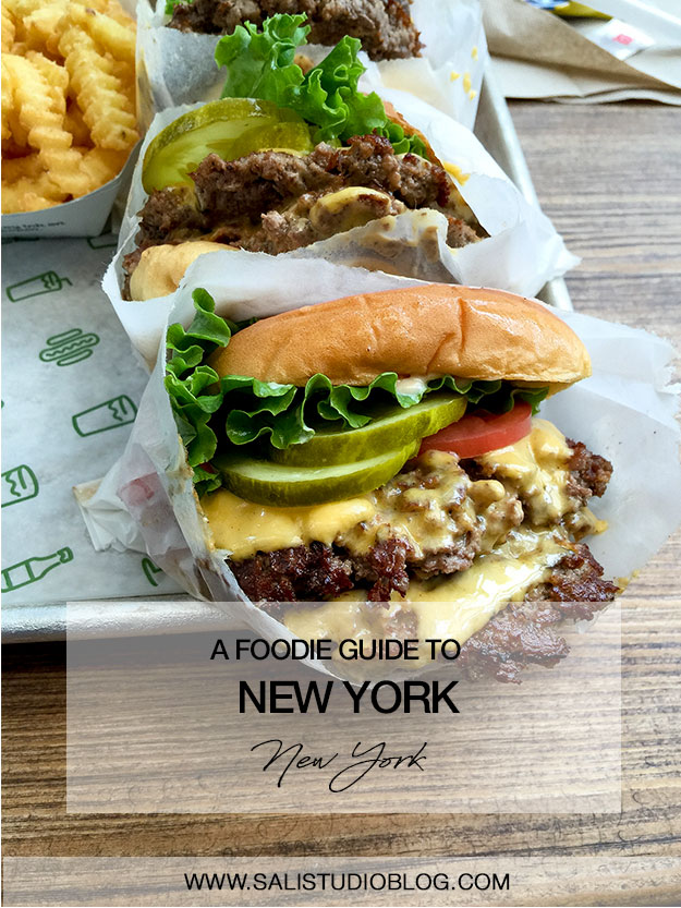 A foodie guide to New York