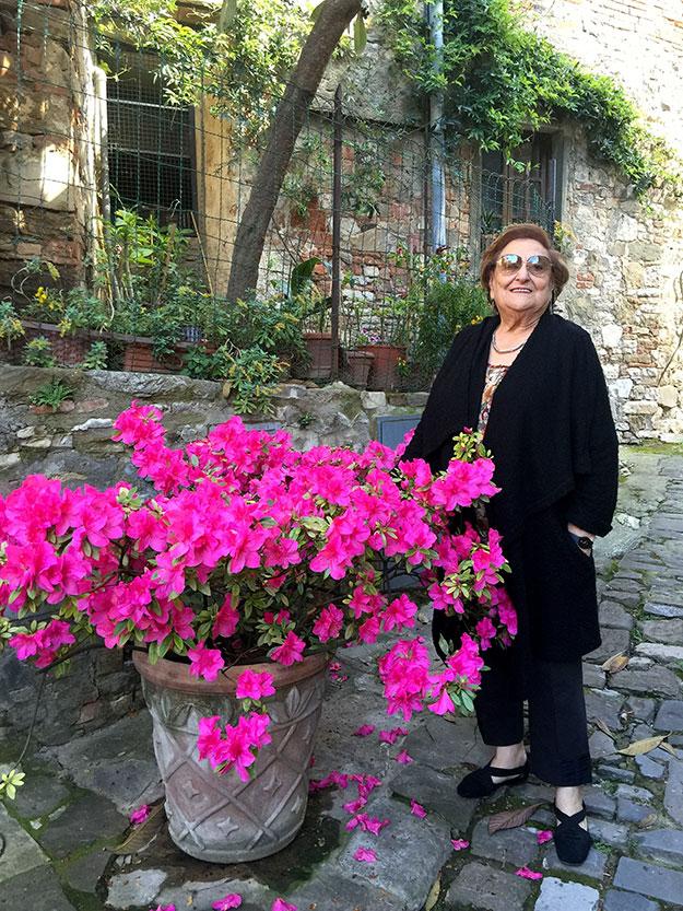 אמא שלי, נטע, הגברת עם הבוגונביליות, טיולי כוכב נינוחות התאימו גם להורי שהצטרפו לטיול