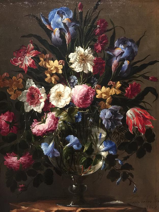 צילום פרחים בקאישה פורום מדריד, מרכז אמנות גדול
