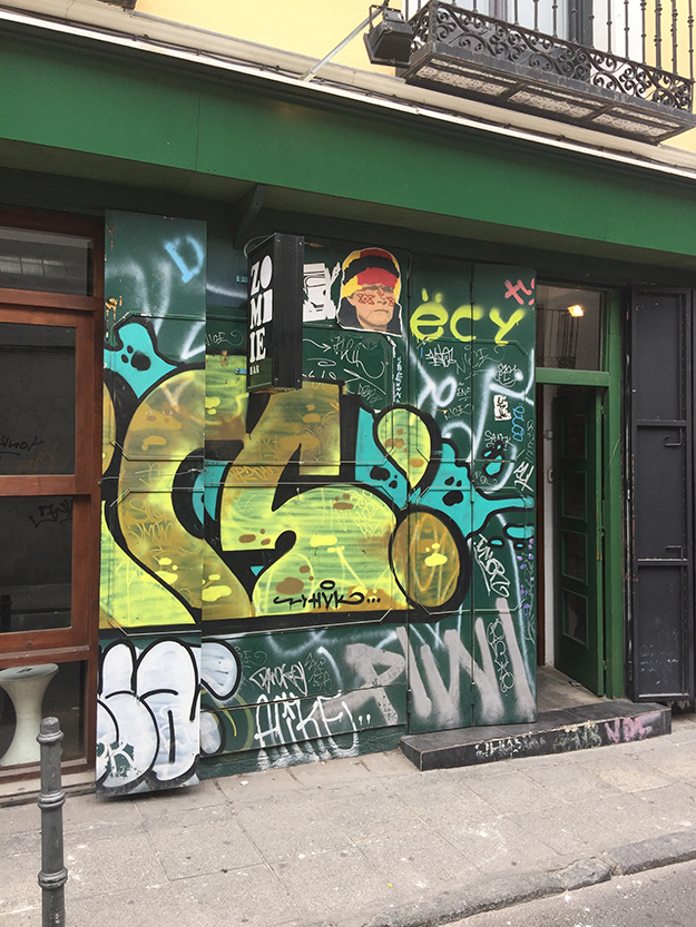 אמנות גרפיטי במדריד