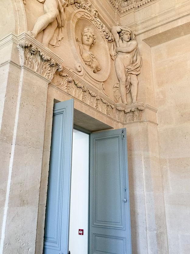הכניסה לגלריה במוזיאון פיקאסו