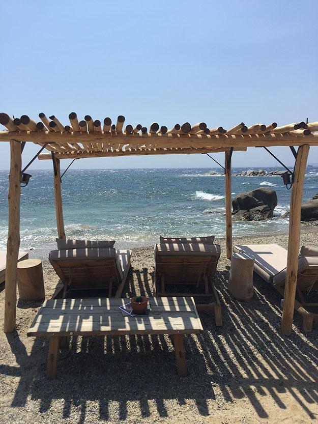 בטן גב בחוף הבוטיקי של סקורפיוס