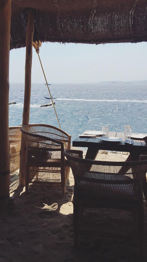 ארוחת צהריים בסקורפיוס עם נוף מושלם