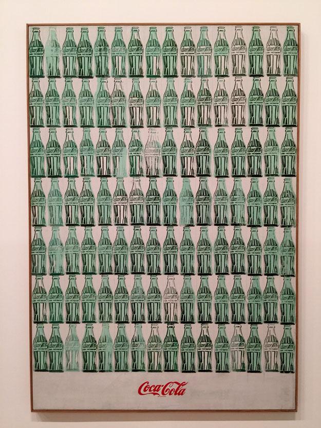 קוקה קולה של אנדי וורהול במוזיאון ויטני החדש