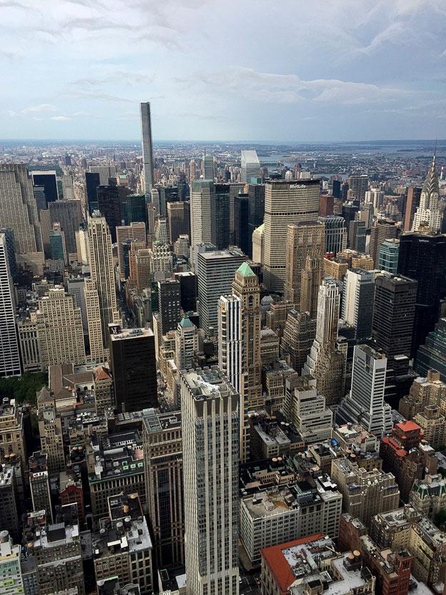 ניו יורק מבט מגג האמפייר סטייט