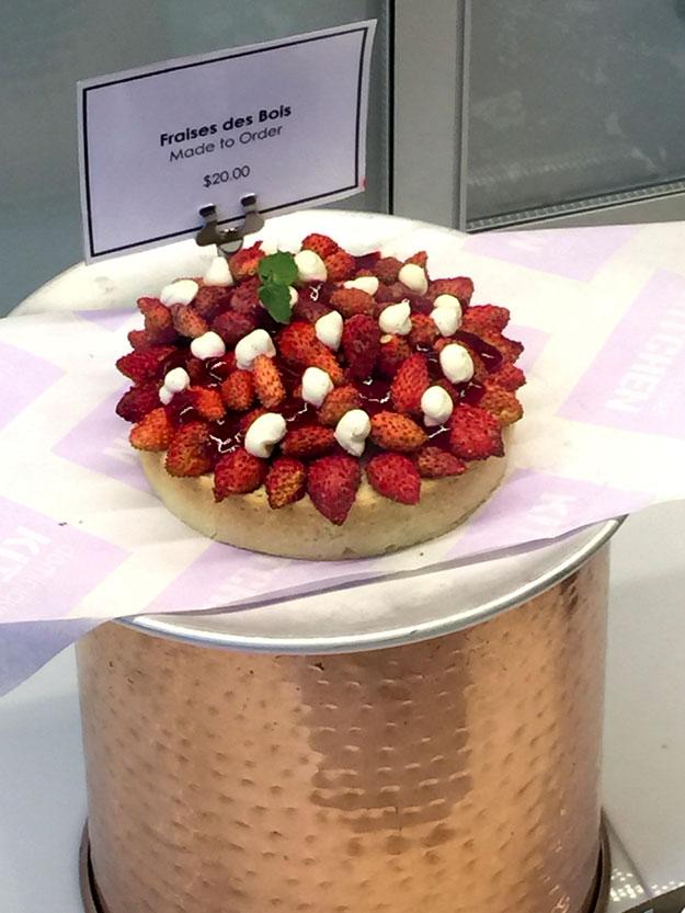 טארט תותים