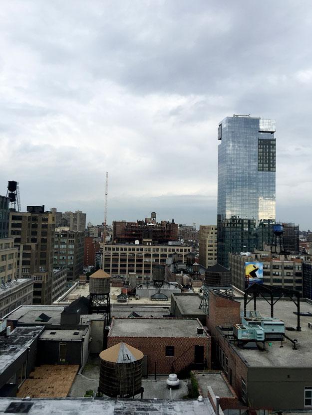 גגות סוהו מתצפית הגג של המלון