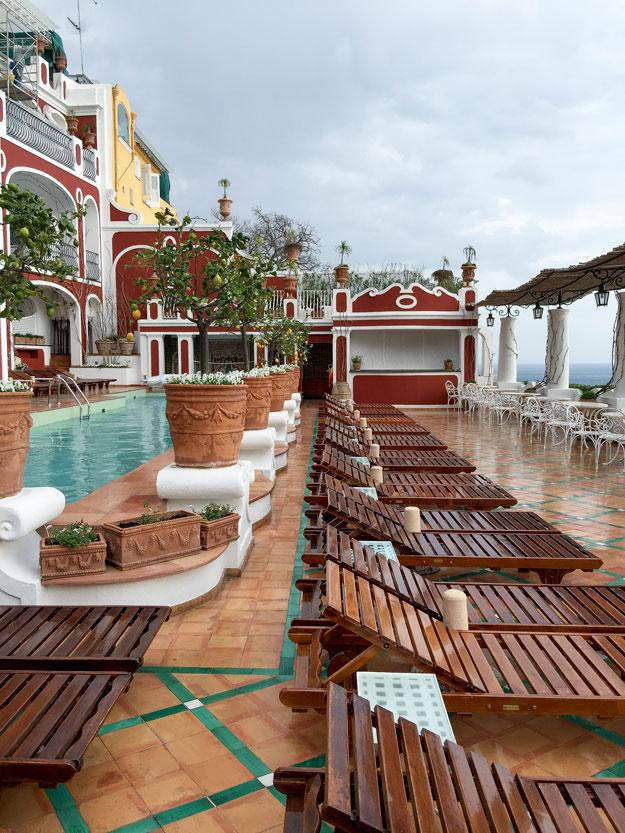 במלון Le Sirenuse