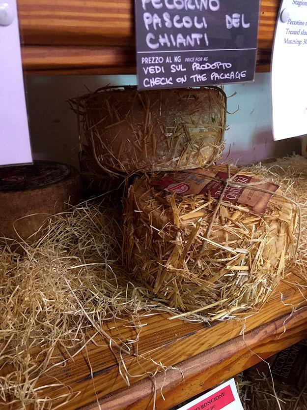 בטוסקנה מתגאים בייצור גבינת פקורינו